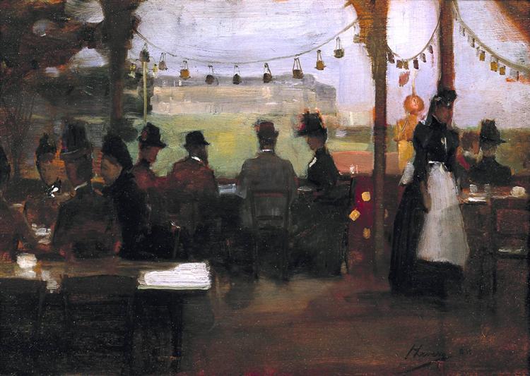 The Glasgow Exhibition, 1888 - John Lavery