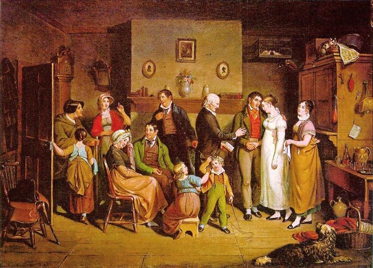 Country Wedding, 1820 - John Lewis Krimmel