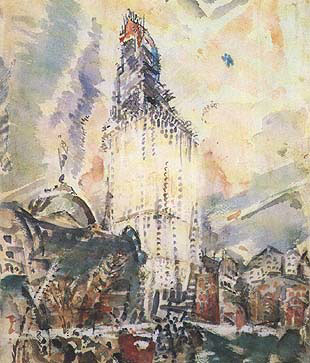 Woolworth Building No. 28, 1912 - John Marin