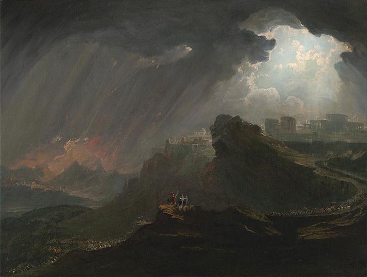 Joshua Commanding the Sun to Stand Still, 1840 - John Martin