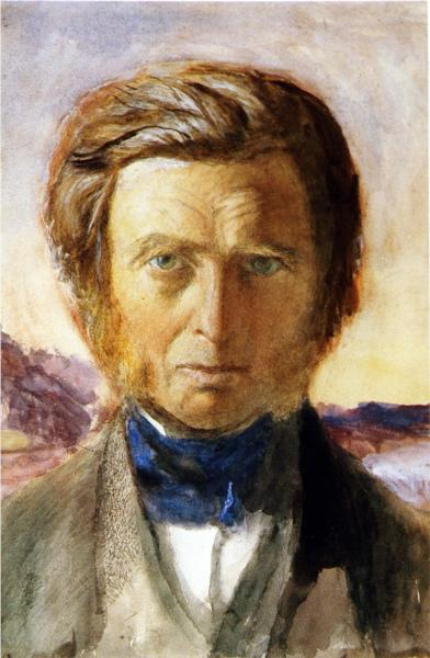 Self Portrait, 1875 - John Ruskin
