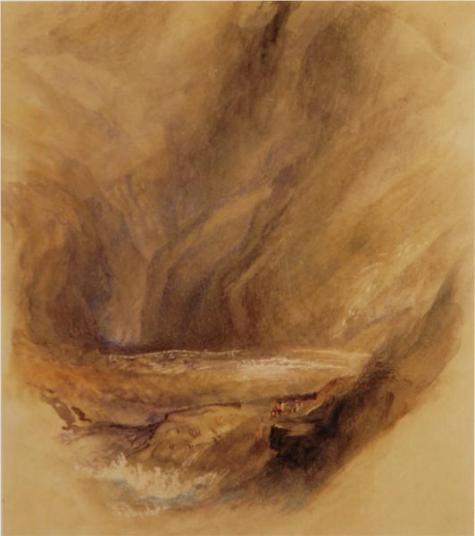 The Gates of the Hills, 1855 - John Ruskin