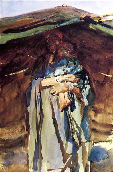 Bedouin Mother, 1905 - John Singer Sargent