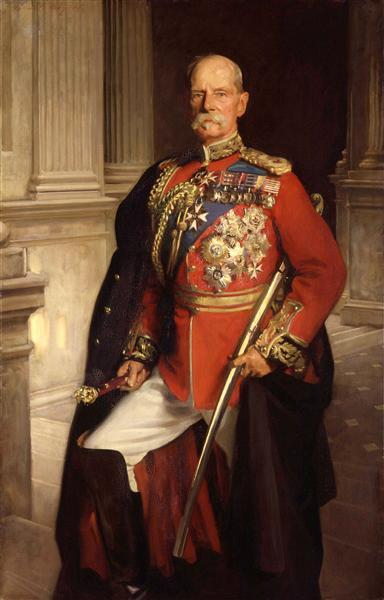 Frederick Sleigh Roberts, 1st Earl Roberts, 1906 - John Singer Sargent