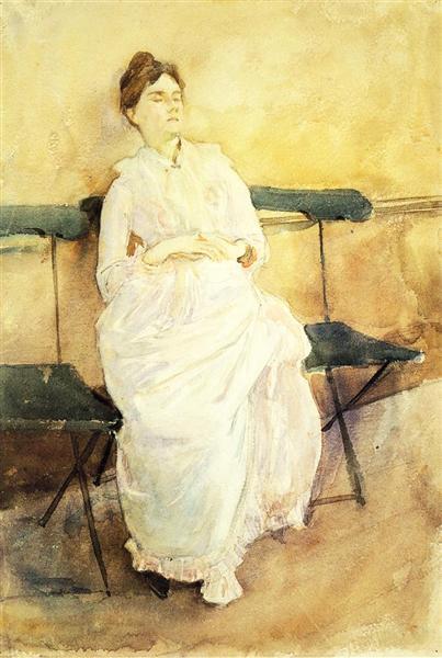 Violet Sargent, 1887 - Джон Сінгер Сарджент