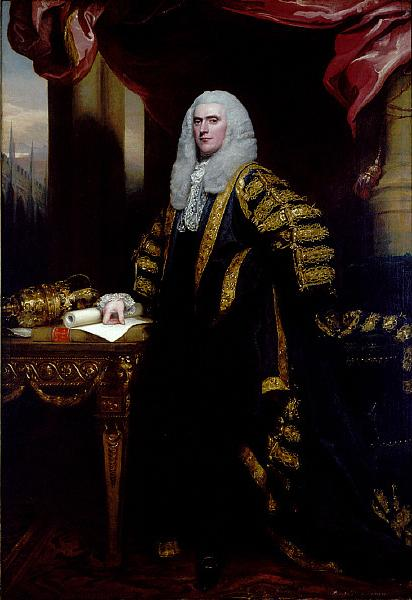 Henry Addington, First Viscount Sidmouth, 1797 - 1798 - John Singleton Copley