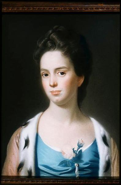 Mrs. Joseph Barrell (Hannah Fitch), 1771 - John Singleton Copley