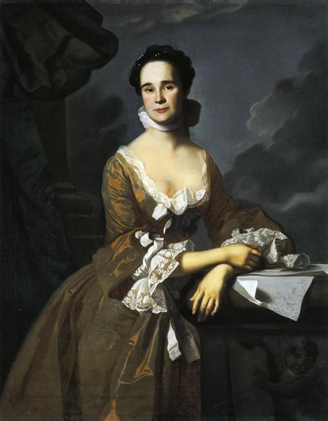 Mrs.Daniel Hubbard (Mary Greene), 1764 - Джон Сінглтон Коплі