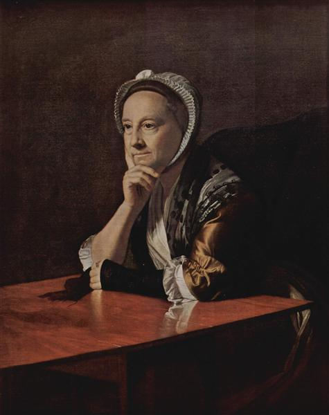 Mrs.Humphrey Devereux, 1771 - John Singleton Copley