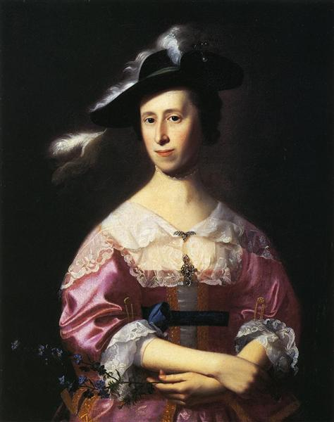 Mrs.Samuel Quincy, c.1761 - Джон Сінглтон Коплі