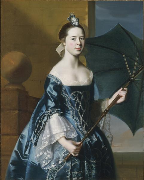 Portrait of Mrs. Benjamin Pickman (Mary Toppan) - John Singleton Copley