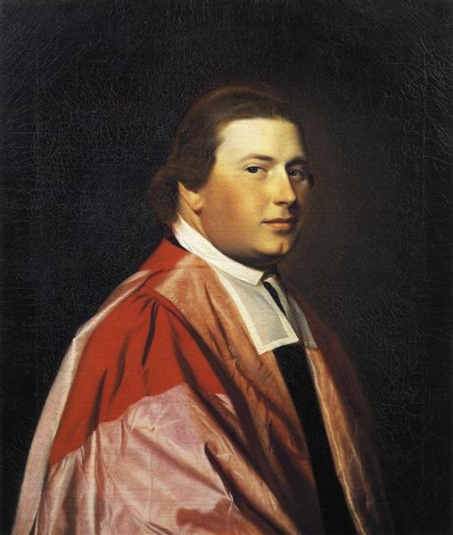 Reverend Myles Cooper, 1768 - 1769 - John Singleton Copley
