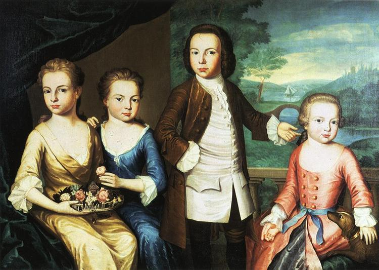 The Gore Children, c.1755 - John Singleton Copley
