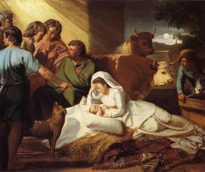The Nativity, 1776 - 1777 - John Singleton Copley