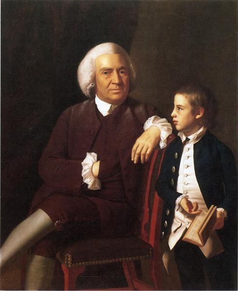 William Vassall and His Son Leonard, c.1770 - c.1772 - John Singleton Copley
