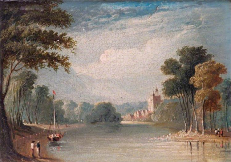 Twickenham Church, Middlesex - John Varley