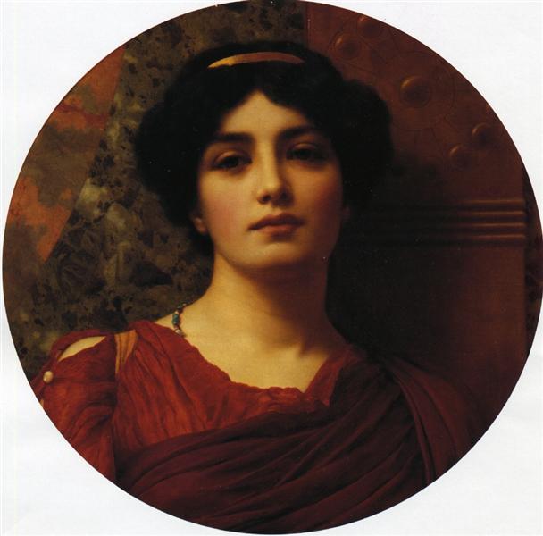Contemplation, 1903 - John William Godward