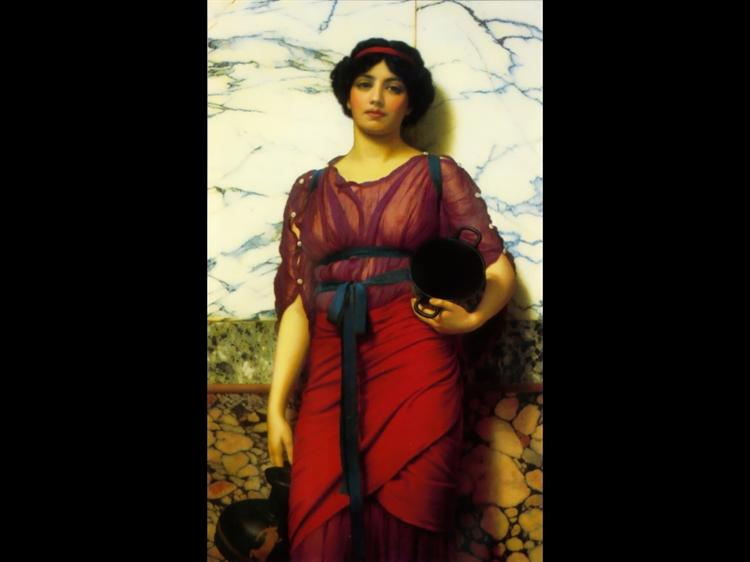 Grecian Idyll, 1907 - John William Godward
