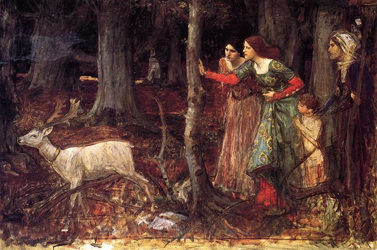 The Mystic Wood, 1914 - c.1917 - John William Waterhouse