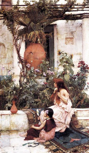 The Toilet, 1889 - John William Waterhouse