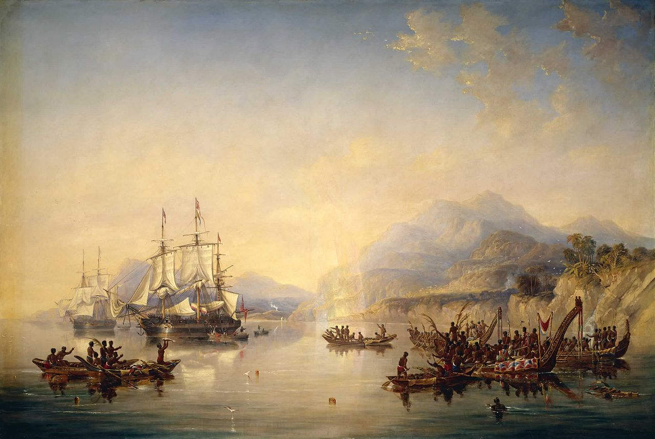 'Erebus' and the 'Terror' in New Zealand, August 1841, 1847