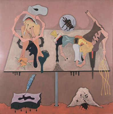 Histoires Natturelles, 1973 - Jorge Camacho