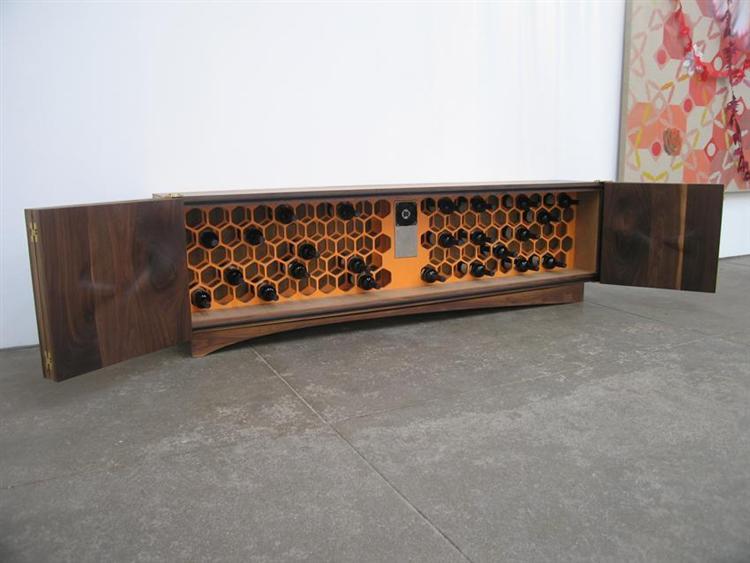 Untitled (wine credenza), 2007 - Jorge Pardo