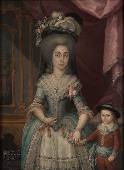 Doña María Catalina de Urrutia, 1788 - José Campeche