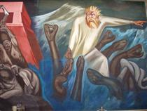 Departure of Quetzalcoatl - The Epic of American Civilization - Jose Clemente Orozco
