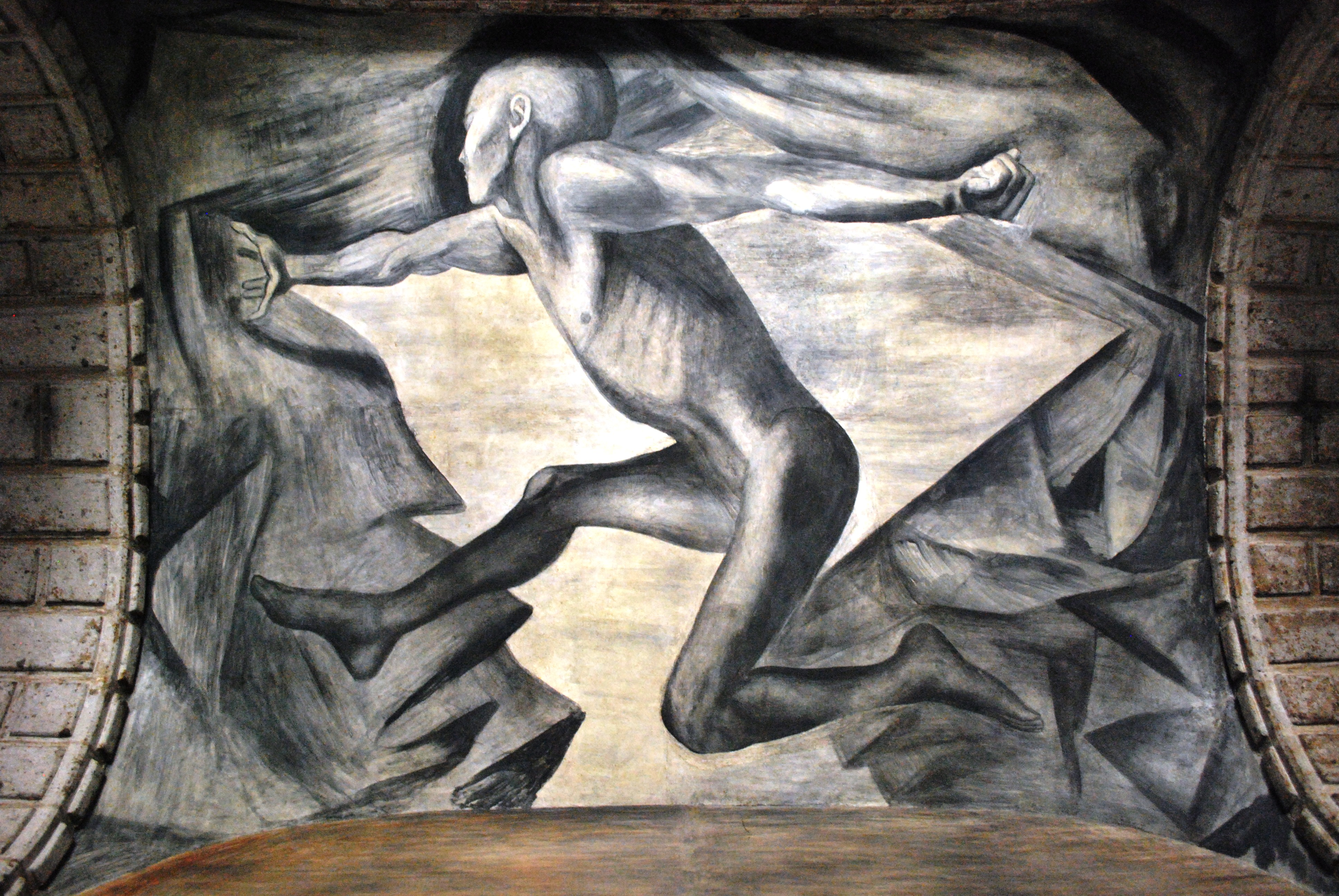 Youth 1924 jose clemente orozco for Escultura mural
