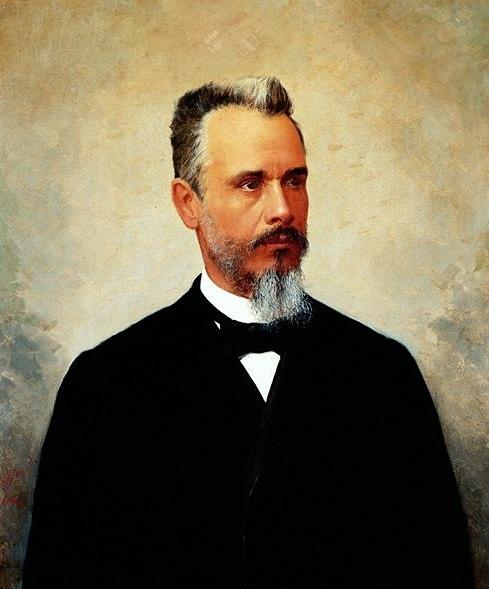Portrait of Bernardino de Campos, 1896 - José Ferraz de Almeida Júnior