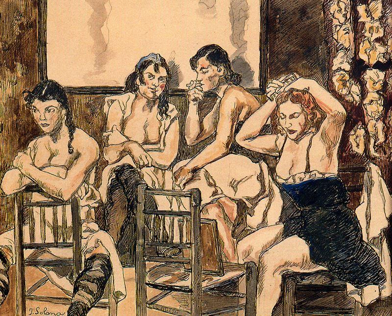 prostitutas siglo xvii prostitutas abolicionistas
