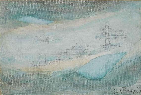 Untitled, 1962 - Josef Sima