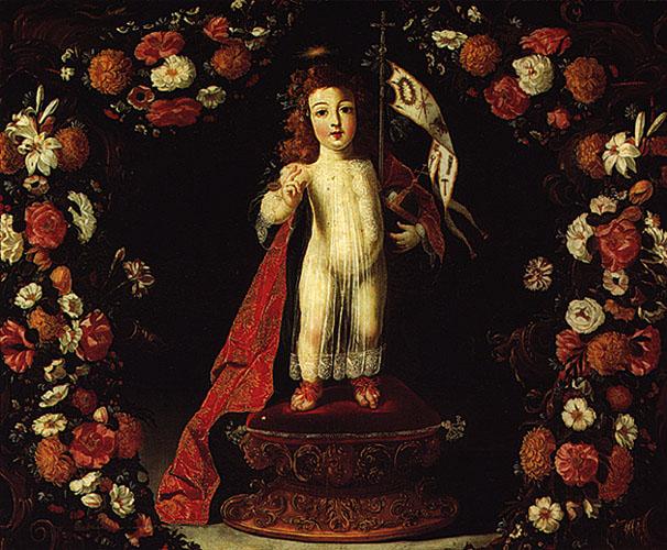 O Menino Jesus Salvador do Mundo, 1673 - Josefa de Óbidos