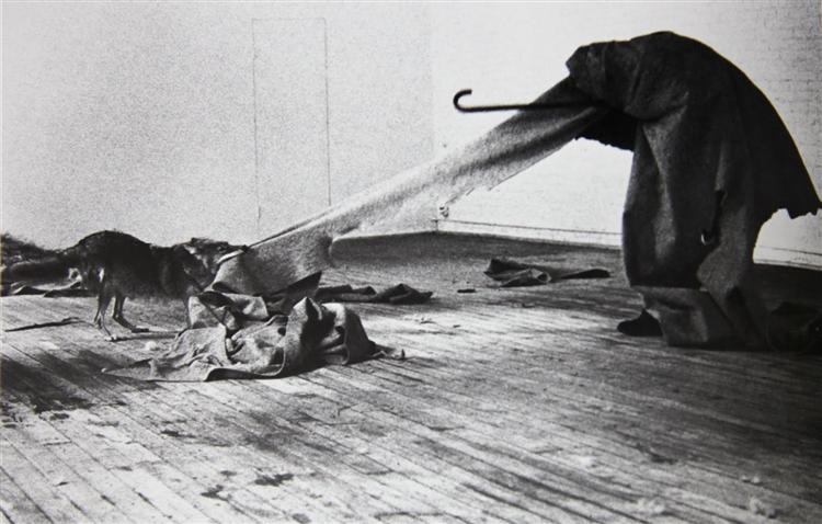 I Like America and America Likes Me, 1974 - Joseph Beuys