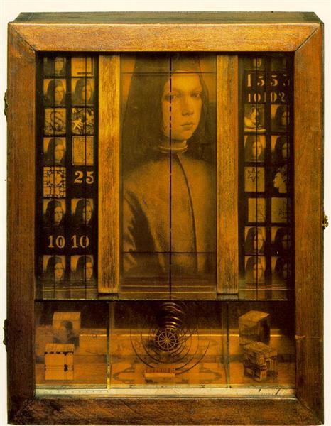 Untitled (Medici Boy), 1952 - Joseph Cornell