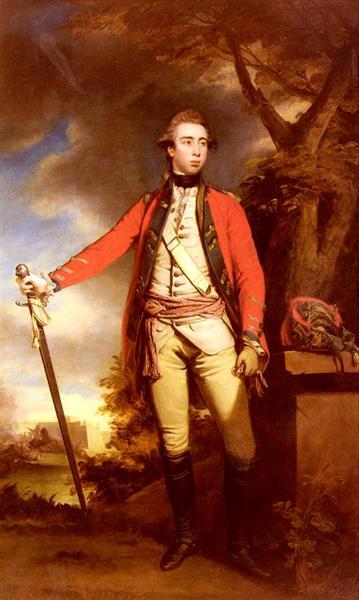 Portrait of George Townshend, Lord Ferrers - Joshua Reynolds
