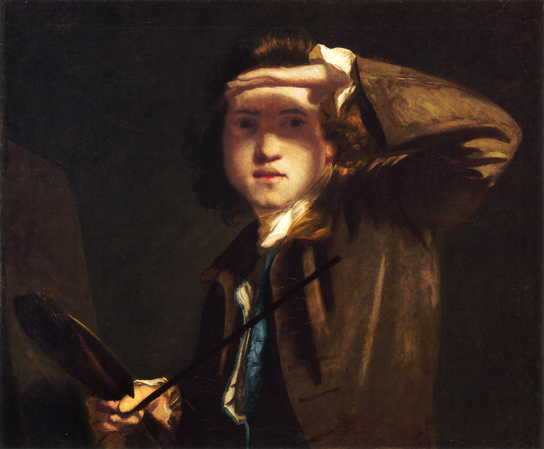 peintres anglais du XVIIIème siècle Self-portrait-3