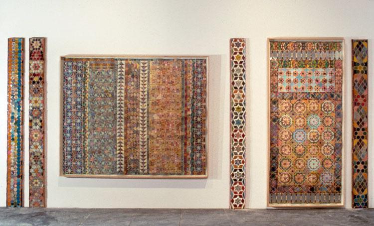 Whitney Biennial Installation, 1979 - Joyce Kozloff