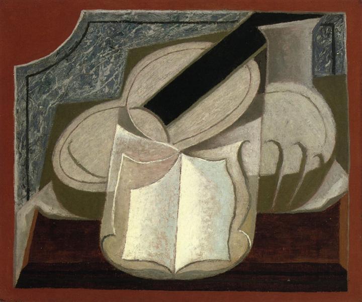 Book and Guitar, 1925 - Juan Gris
