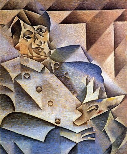Portrait of Pablo Picasso - Juan Gris