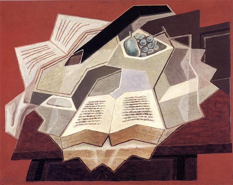 The Open Book, 1925 - Juan Gris