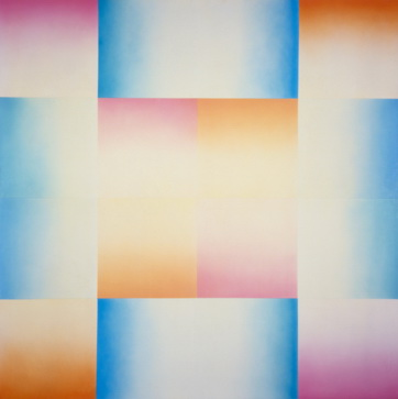 Big Blue Pink, 1971 - Judy Chicago