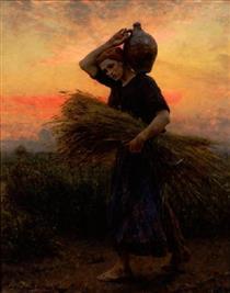 Dawn - Jules Breton