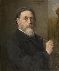 Self Portrait - Jules Breton