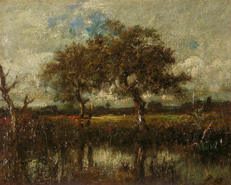 Untitled (Landscape) - Jules Dupré