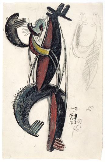 Homme cactus dansant, 1939 - Julio Gonzalez