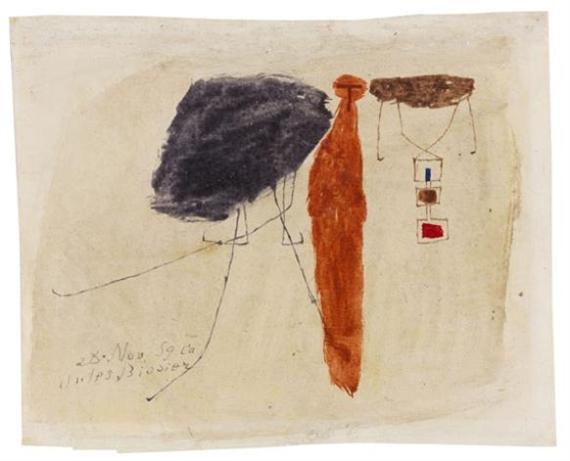 Komposition, 1959 - Julius Bissier
