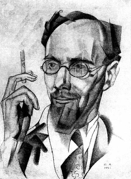 Abram Efros, 1921 - Jury Annenkov