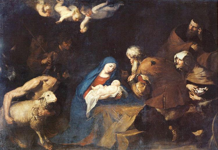 Adoration of the Shepherds, 1640 - Jusepe de Ribera